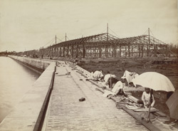 Erection of Sheds, Calcutta Docks